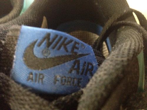 nike air force 1 foamposite turquese 15 ! promoção!