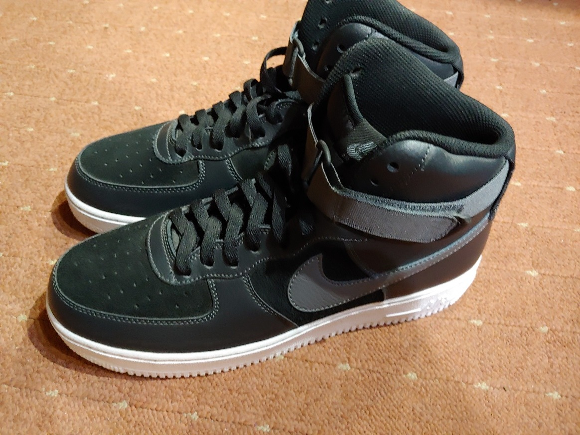 271d6df9778 ... new zealand nike air force 1 high 07 negro y gris. cargando zoom. 35ef8
