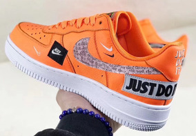 Nike Air Force 1 Just Do It 1 Modelo Exclusivo Vuelta Town