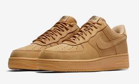 zapatillas nike air force marrones