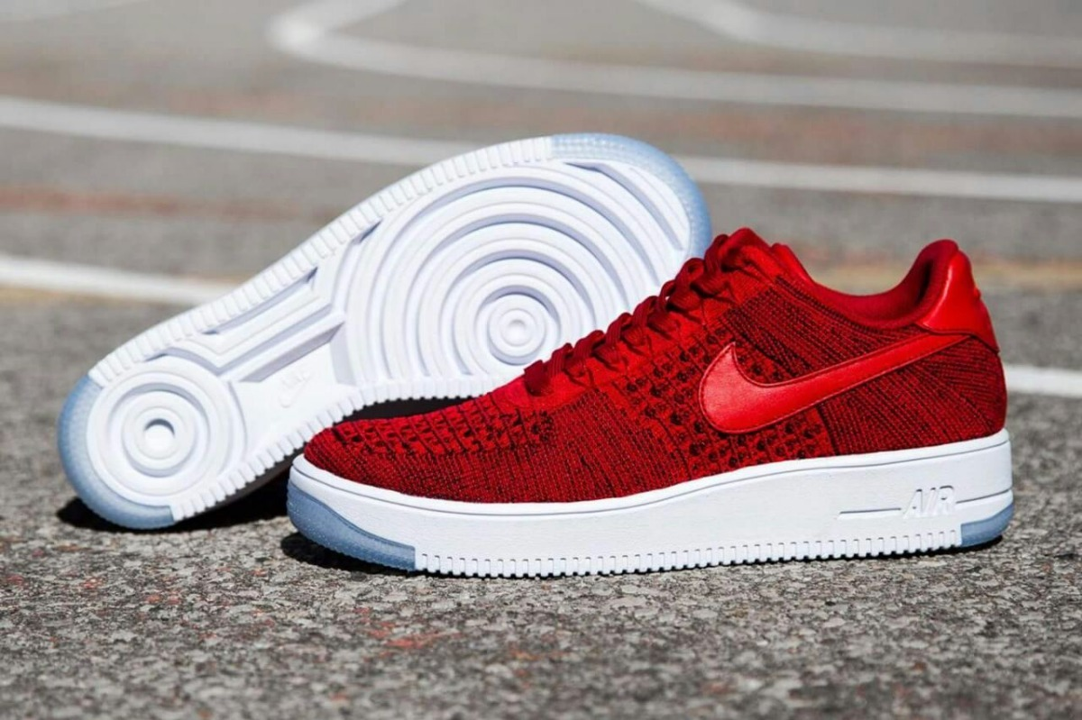 618f8184704 Nike Air Force 1 Low Flyknit Dama