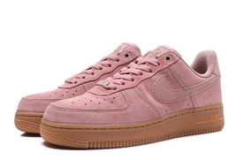 Zapatillas Nike Air Force 1 Low Pink Mujer Originales