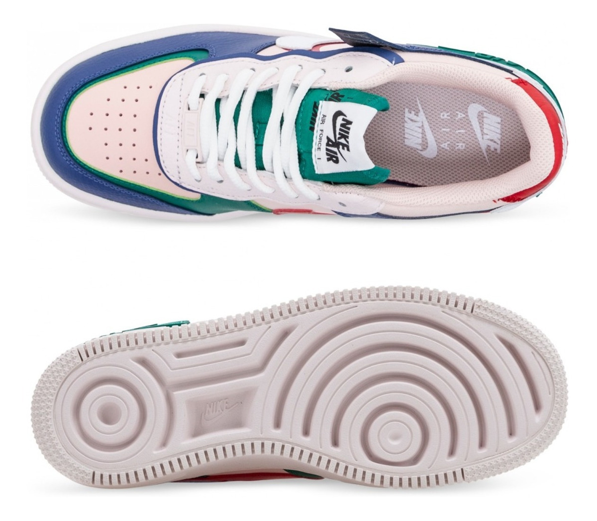 Nike Air Force 1 Low Zapatillas Mujer 100 % 0riginales Cod 0029