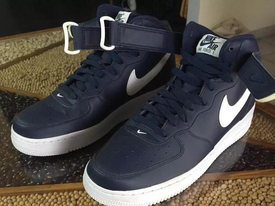 Bota Lifestyle Azul Claro Nike Air Force 1 Mid '07