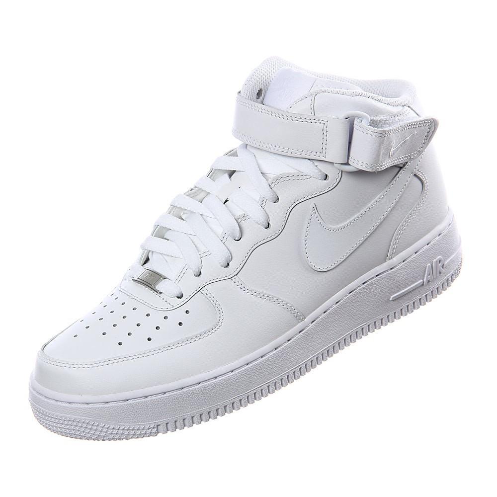 dcc1654fdb355e ... coupon code nike air force 1 mid 07 mujer blancas cuero genuino caja  37. cargando