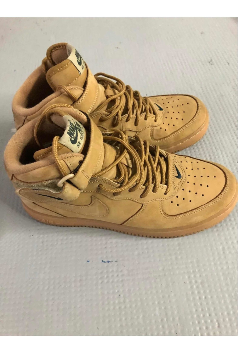 422 1 Flax 9us Wheat Originales Force Mid Air Nike OXuPZik