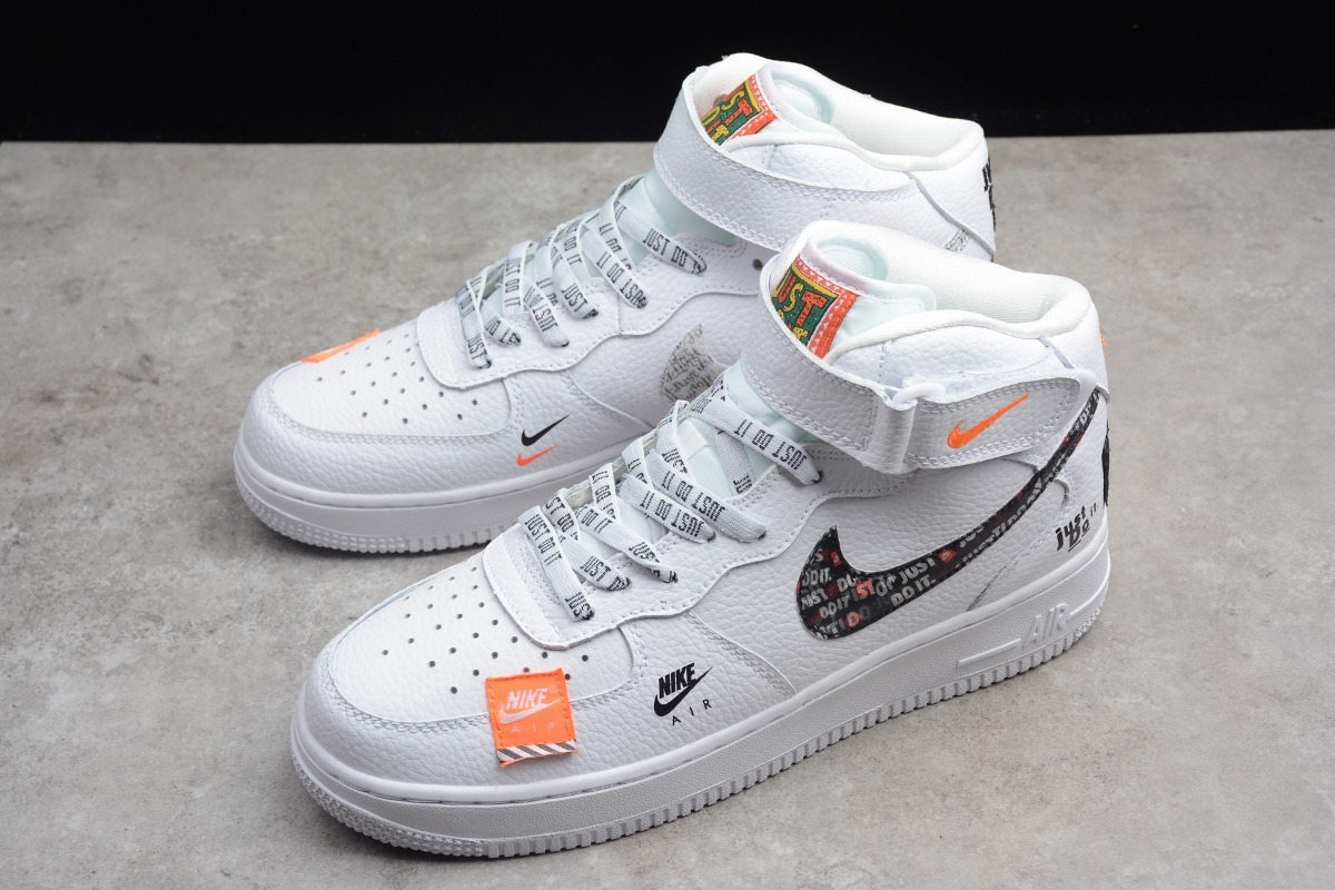 nike air force 1 just do it blancos