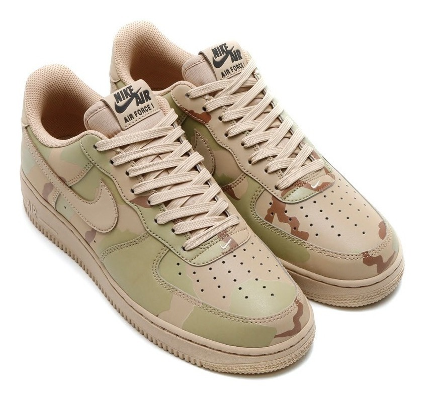 buy good buy best huge inventory Nike Air Force 1 Reflective Desert Camo - Sneakers Clássic