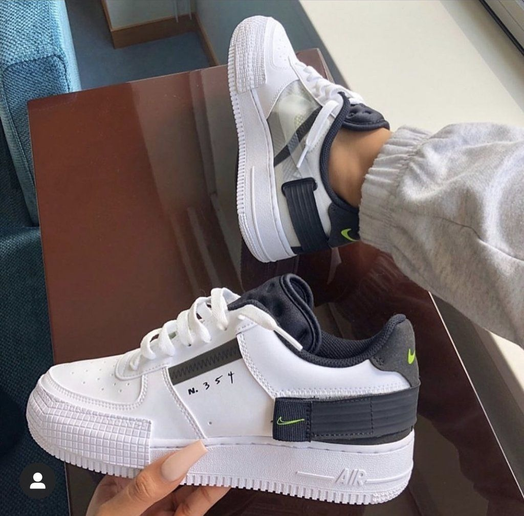 air force 1 type blanca