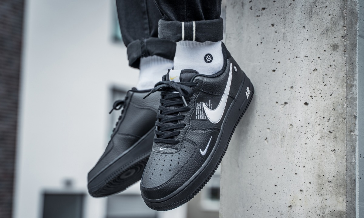 Air Nike 1 Utility Force Vuelta Sneakers Town Black 2019 QshxdtBrC