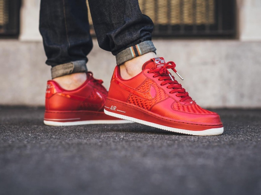 e2637c7af7c46 Nike Air Force 1low Woven Rojas