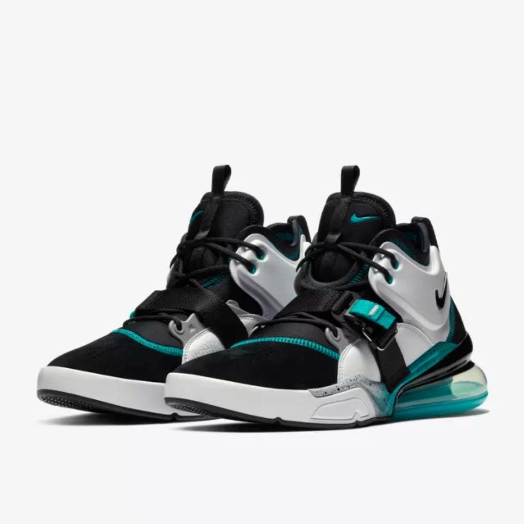Nike Air Force 270 'Blue Emerald' Black