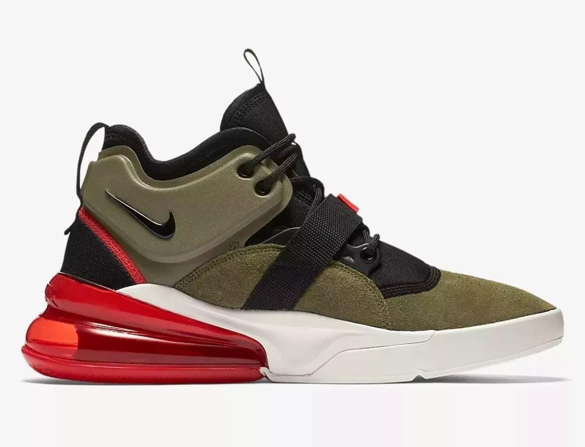 Nike Air Force 270 Médium Olive Zapatillas Hombre Original
