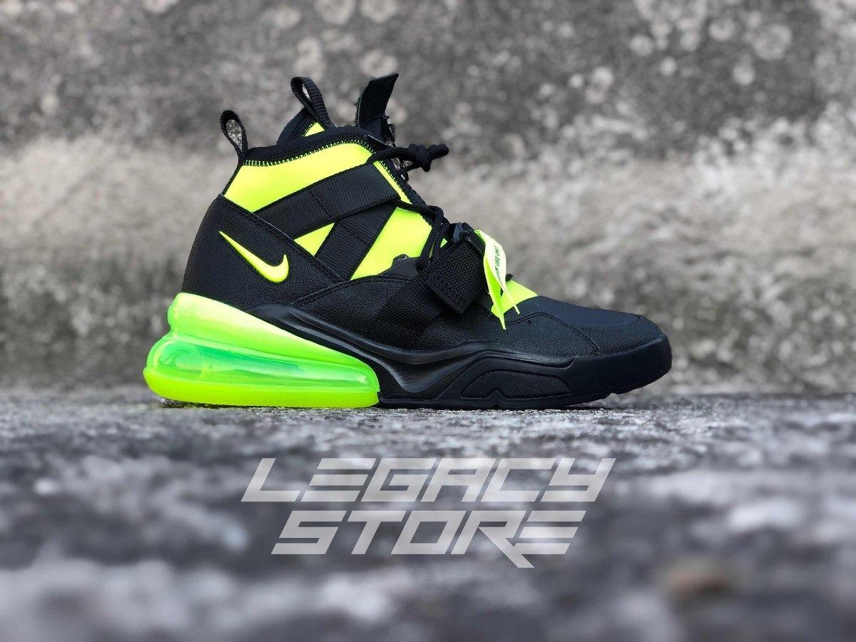 Nike Air Force 270 Utility Black Volt Originales Envío Grati