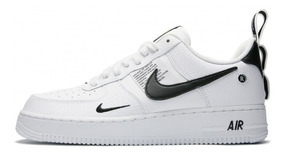 Importadas Nike Blancas Unisex Air Force Pipa Negra 354ARjLq
