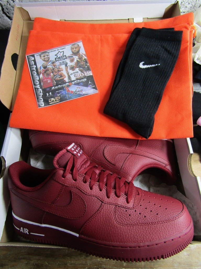 Nike Air Force One 07 Team Red Red (29 Mex) Astroboyshop