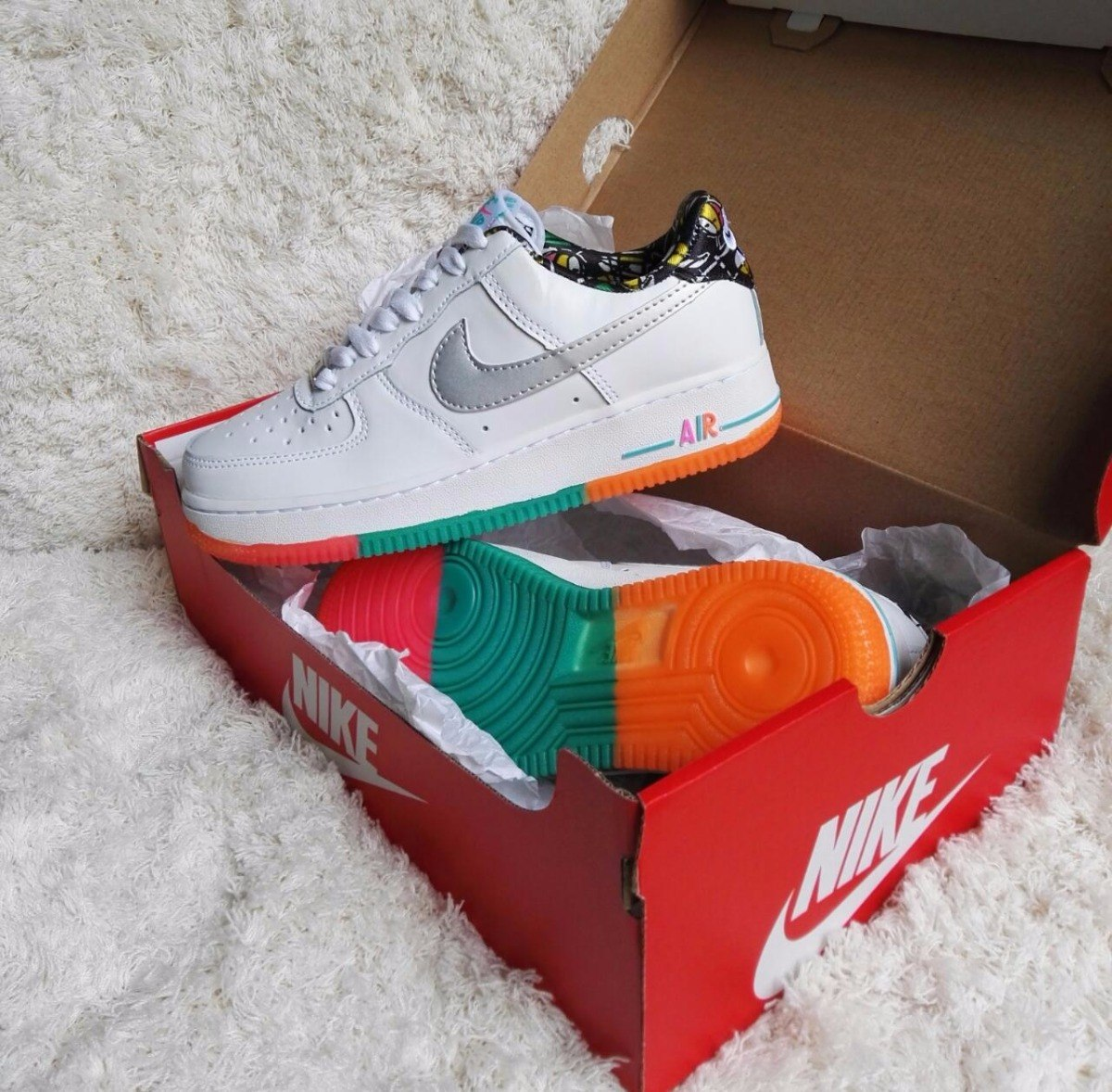 new arrival d8bd2 edff8 nike air force one color. Cargando zoom.