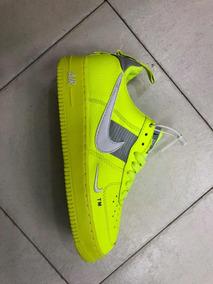 distribuidor mayorista 4ead4 7a2eb Nike Air Force One Fosforescente
