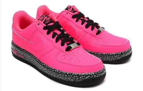 best sneakers 4b1c8 ba232 nike air force one fucsia-rosa
