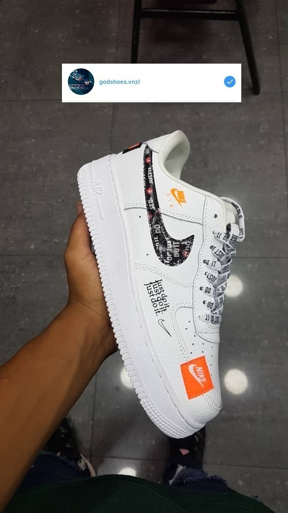 Nike Air Force One Just Do It (65)