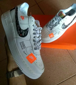 Nike Air Force One Just Do It Dama Y Caballero