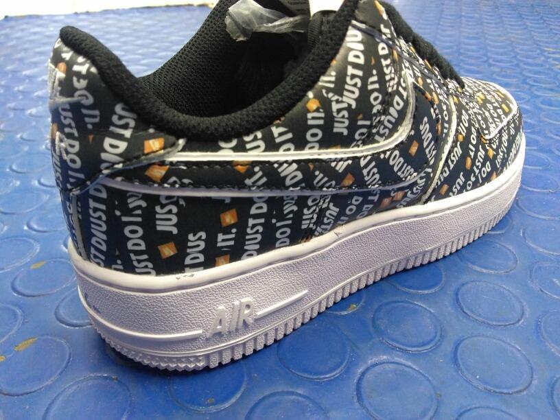 5986f562e1c510 Nike Air Force One Just Do It Letras - $ 1,900.00 en Mercado Libre