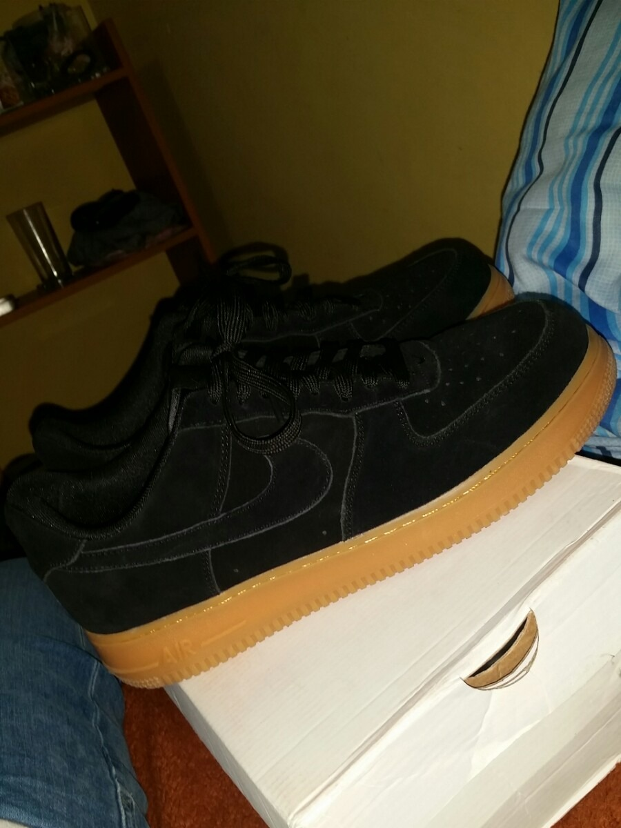huge discount e3053 e622c nike air force one low black gum. Cargando zoom.