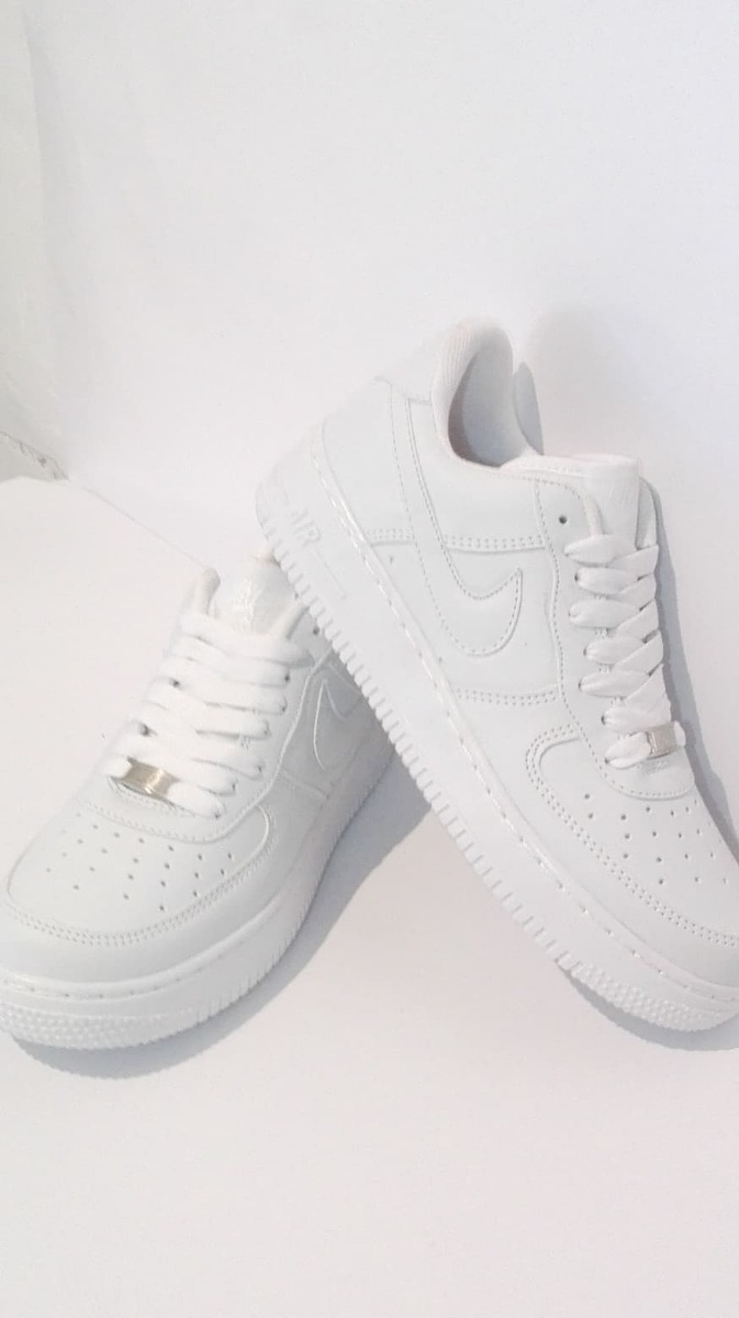 Rabatt Nike Air Force One Low blancos Super Comodos retro