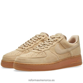 Hombre Air Force Low One Nike Suede W2HYebIED9