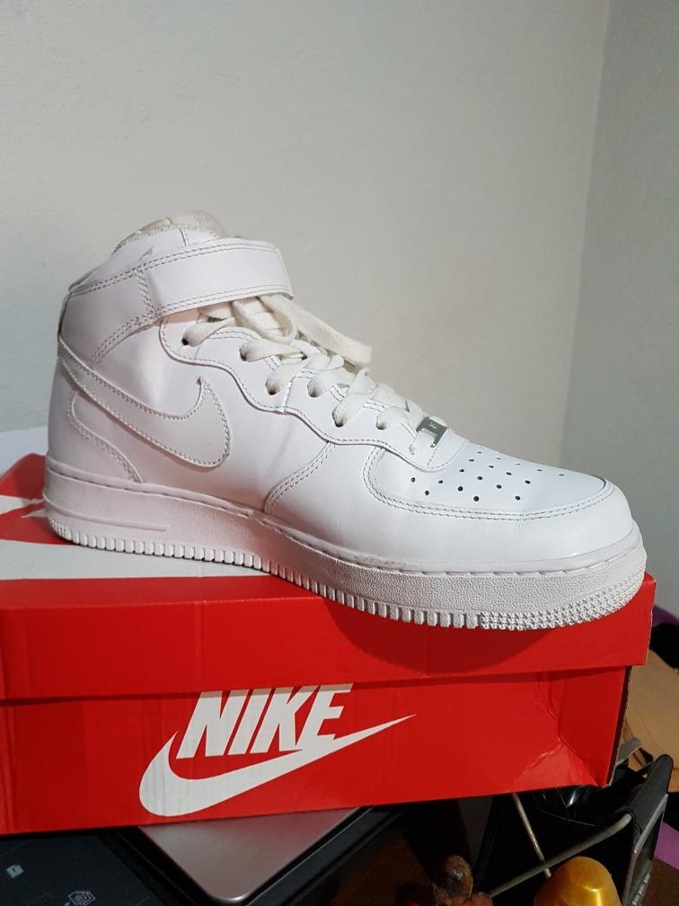 Air Force Ones Nikes. tênis feminino nike air force 1 mid 07 rosa ck ... cb72ab5d2c91a