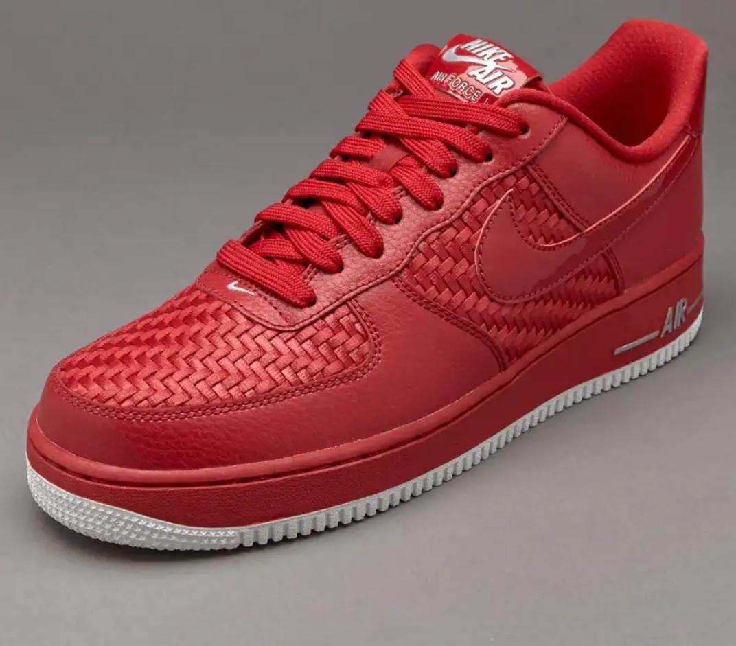 air force 1 rojas hombre