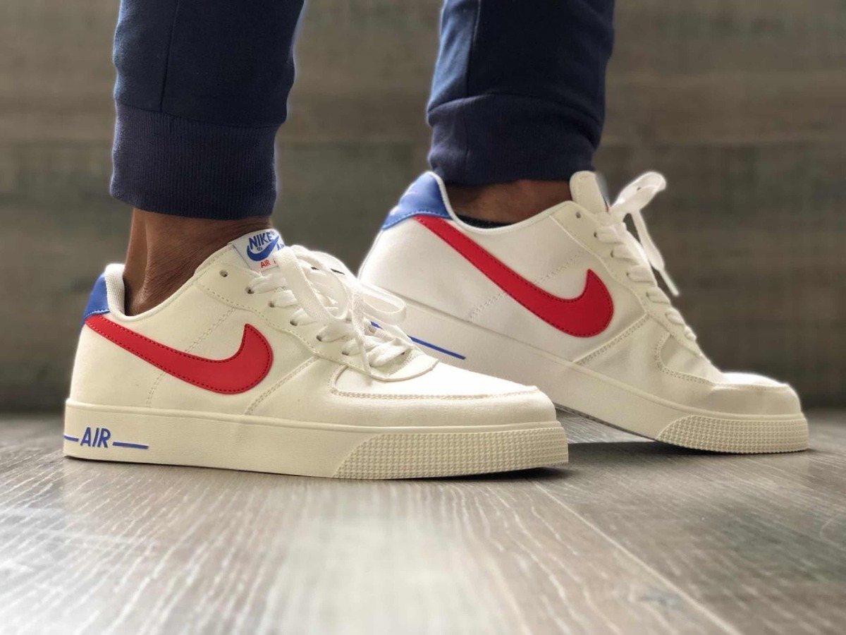 suspicaz Novia si puedes  Nike Air Forcé One Tabla Tenis D Hombre Caja Nike Y Garantía - $ 165.000 en  Mercado Libre