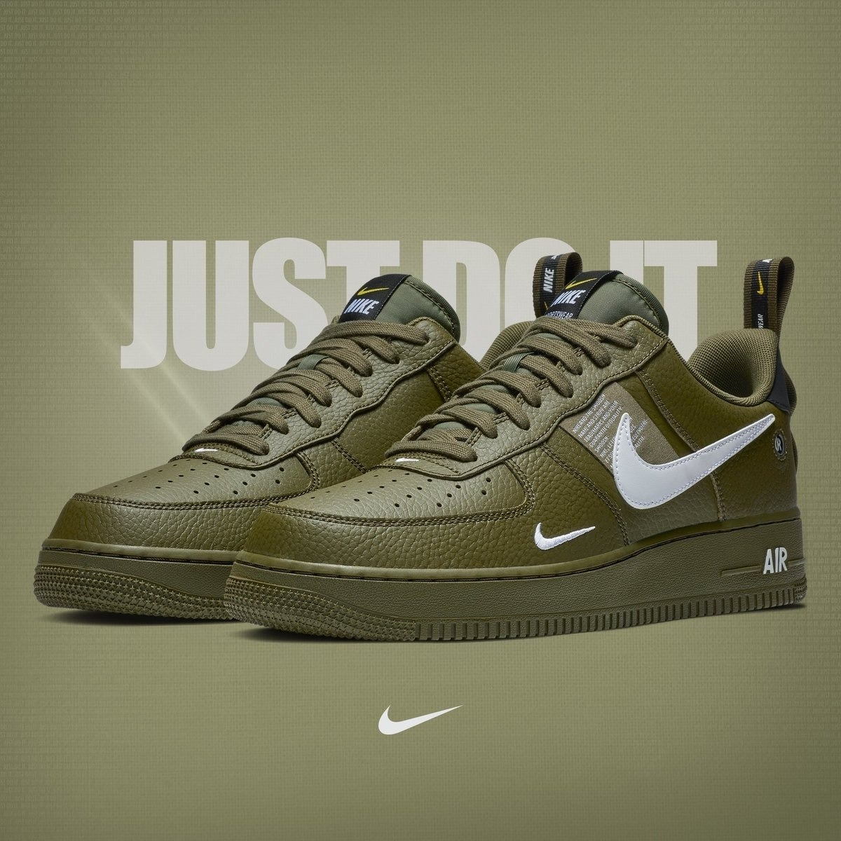 Utility Nike Sneakers Force Olive One Air 08nwOXPk