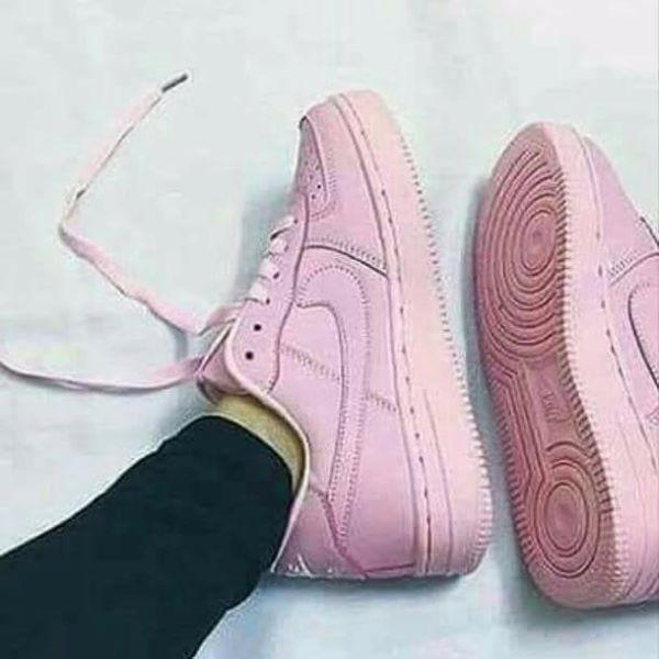 e96562a6f7 Nike Air Force Rosa