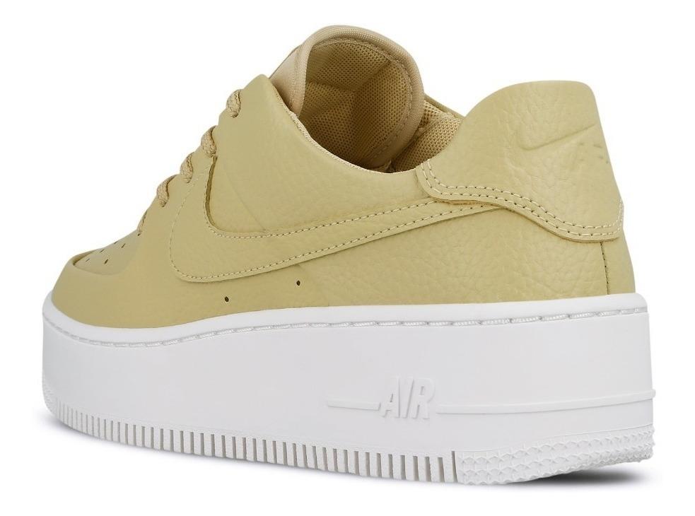 Nike Air Force W Af1 Sage Low 100% Originales Color Mineral