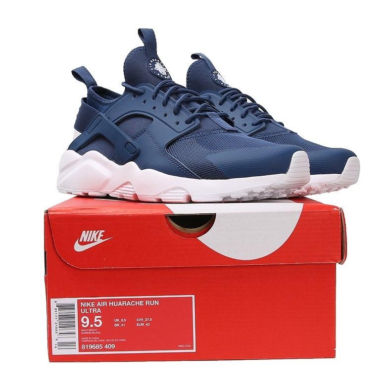 7c3f0e392af69 Nike Air Huarache Run Ultra Azul Marino De Hombre -   4.399