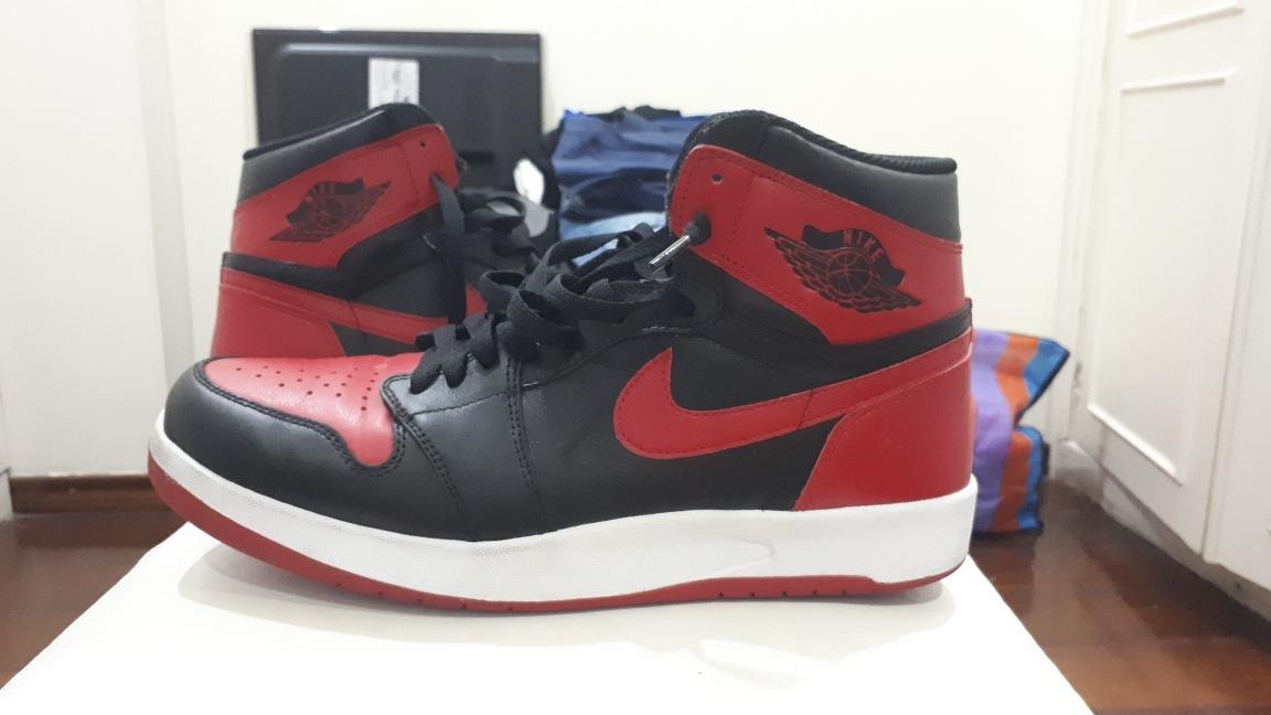 separation shoes 27236 dabcb Nike Air Jordan 1 Bred 2013 Muito Novo Us 10.5 43