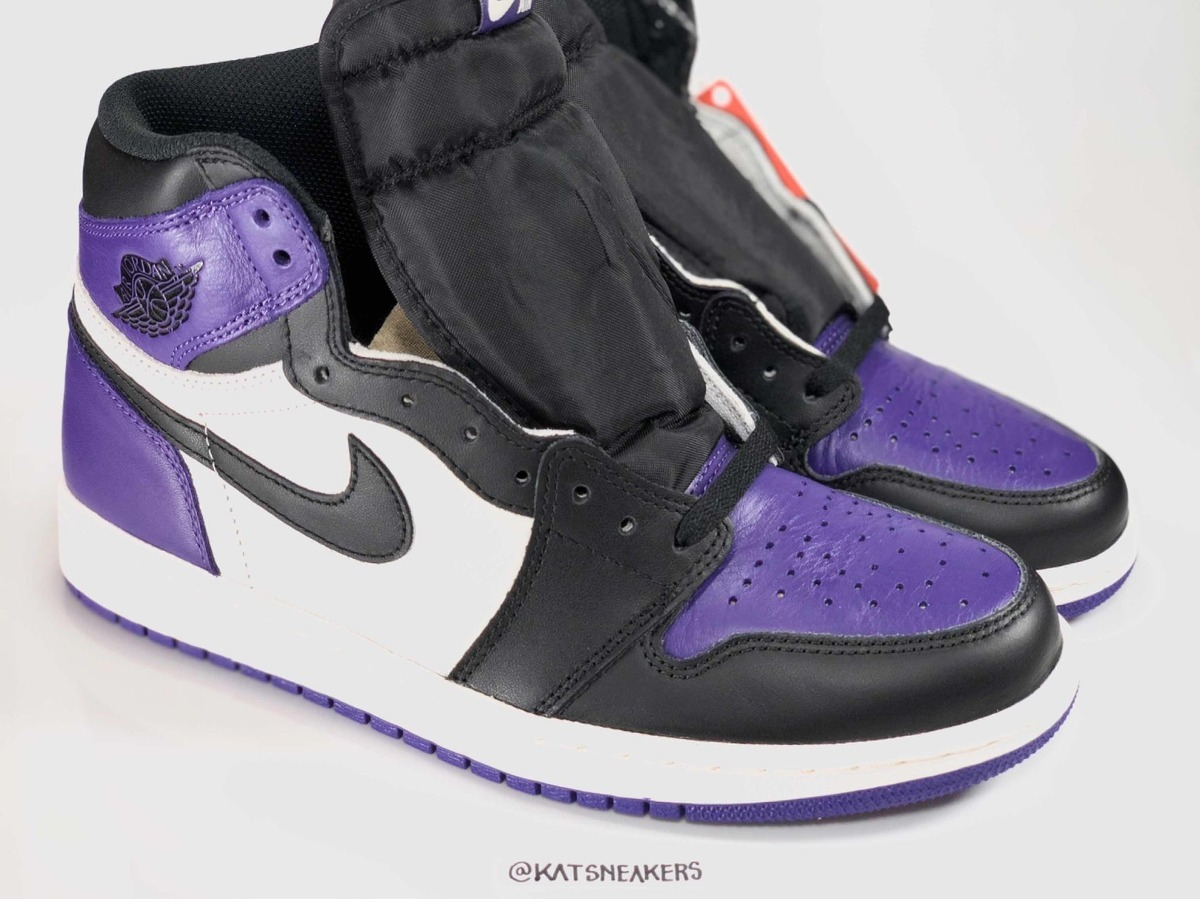 best service 64e0b 7b58a Nike Air Jordan 1 Court Purple 42 Novo Frete Grátis 1800av