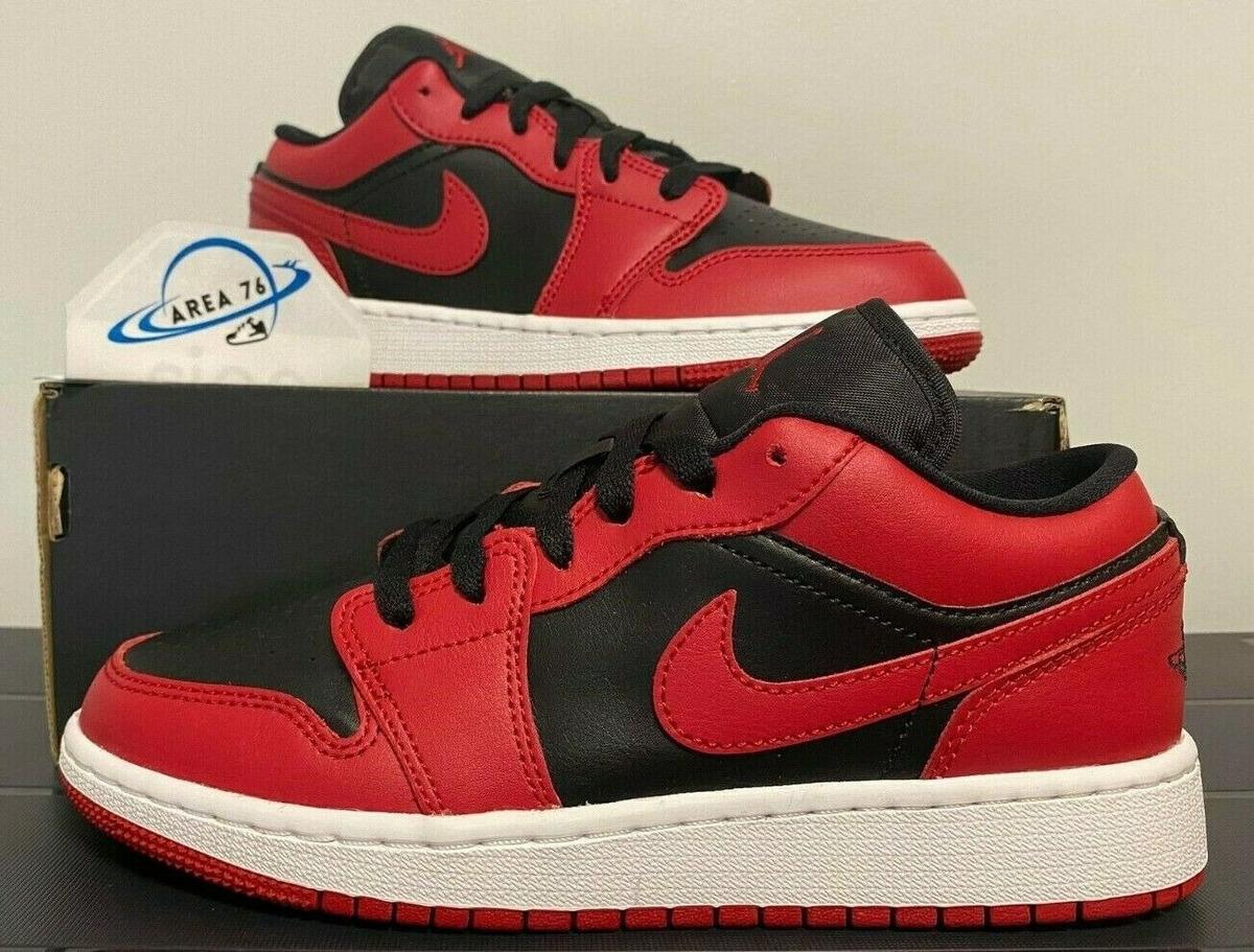 alineación Derivar obispo  Nike Air Jordan 1 Retro Low Reverse Bred Og Negras / Rojas - S/ 859,00 en  Mercado Libre