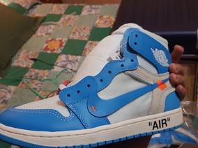 buy online 3854f 89a14 Nike Air Jordan 1 Unc X Off White #28.5mx