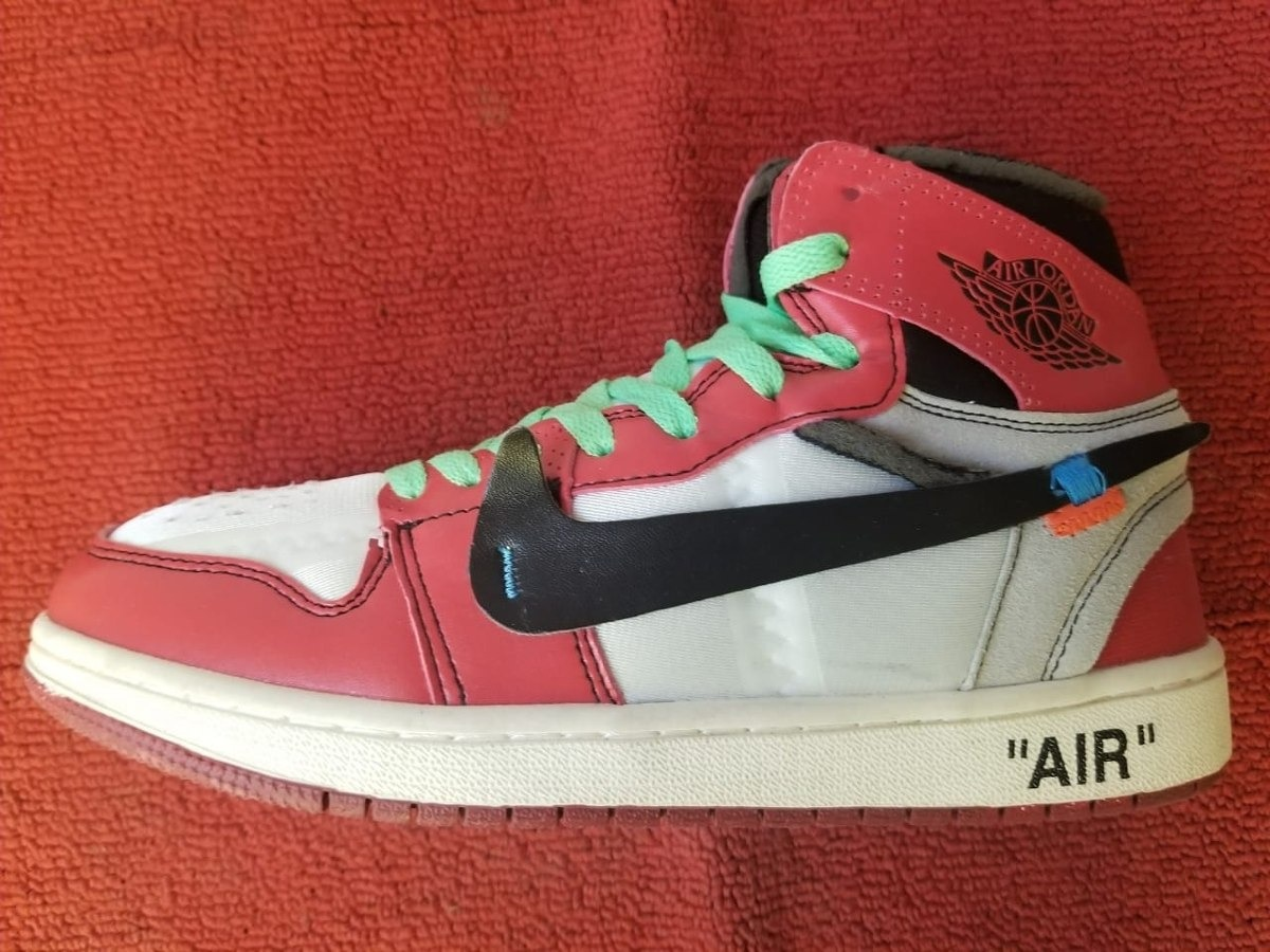 detailed pictures 4c7d0 1bbe7 Nike Air Jordan 1 X Off White Nba Lebron Foamposite Supreme