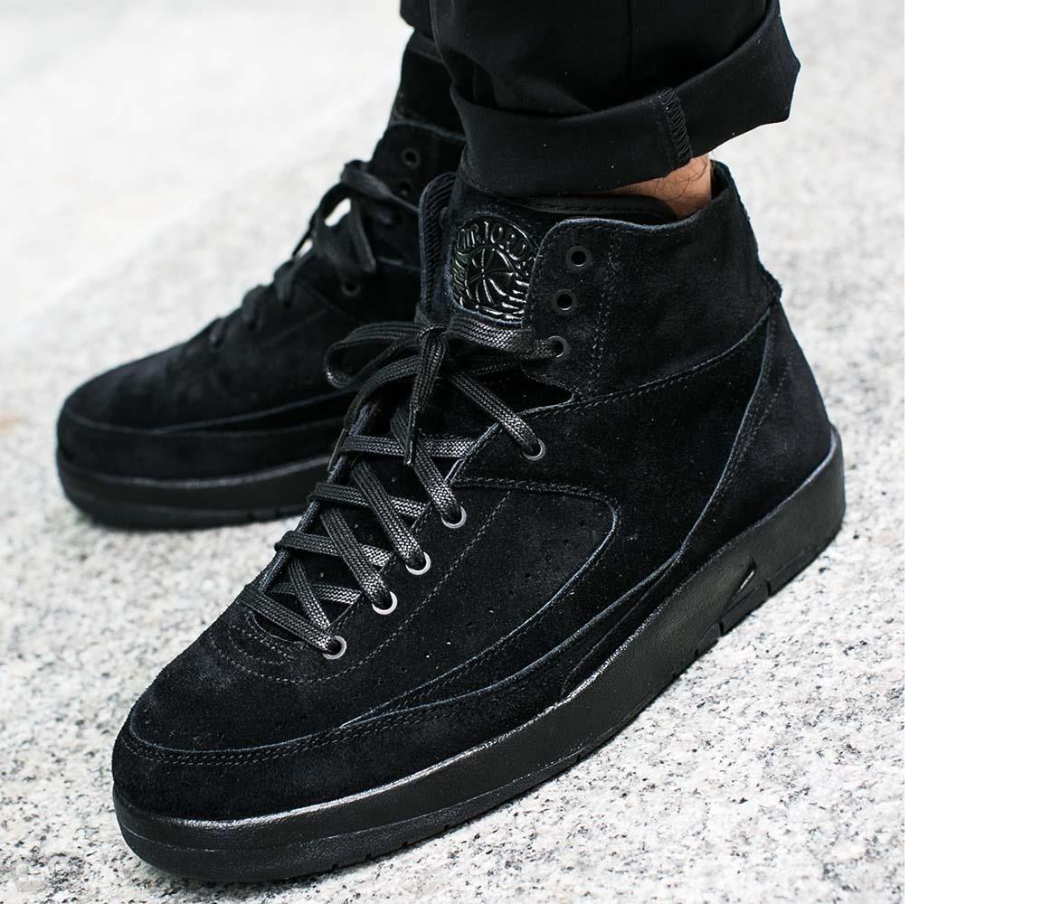 official photos afcc2 4ae0f Nike Air Jordan 2 Retro Decon Negro Caballero