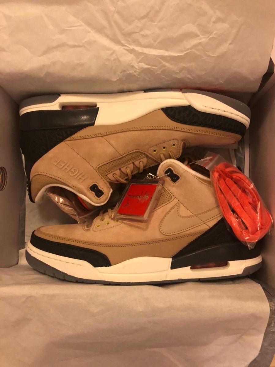 huge discount f59e8 b989b Nike Air Jordan 3 Bio Beige (justin Timberlake) Size 13 Us