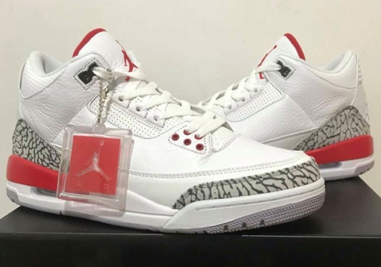 online store ed4b6 5bb43 Nike Air Jordan 3 Katrina (2018) - R  650,00 em Mercado Livre