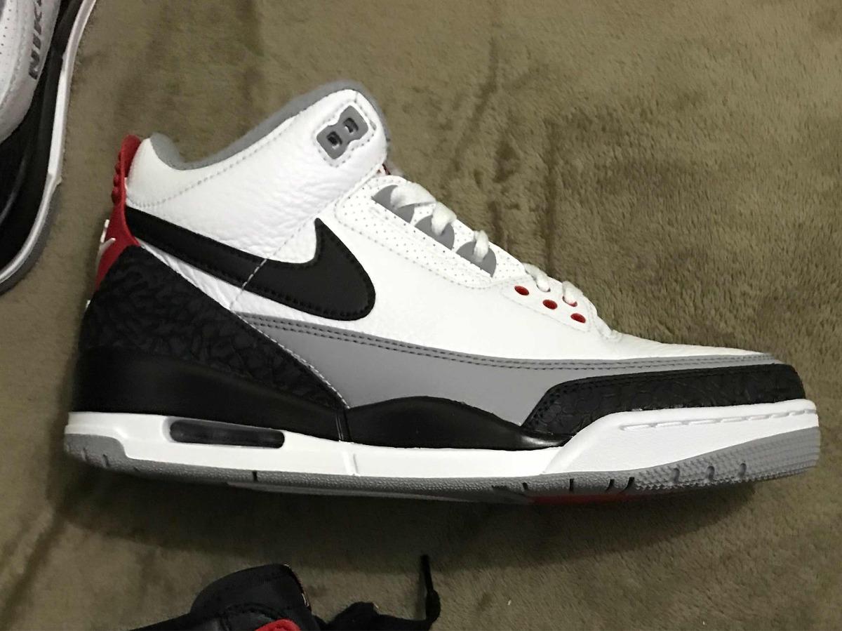 8d5ffd651f5 Nike Air Jordan 3 Tinker Hatfield 9.5 Ds 41! Novo - R  1.500