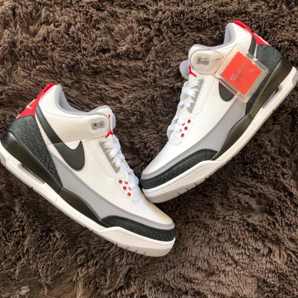 Nike Air Jordan 3 Tinker Hatfield R 1 450 00 Em Mercado Livre