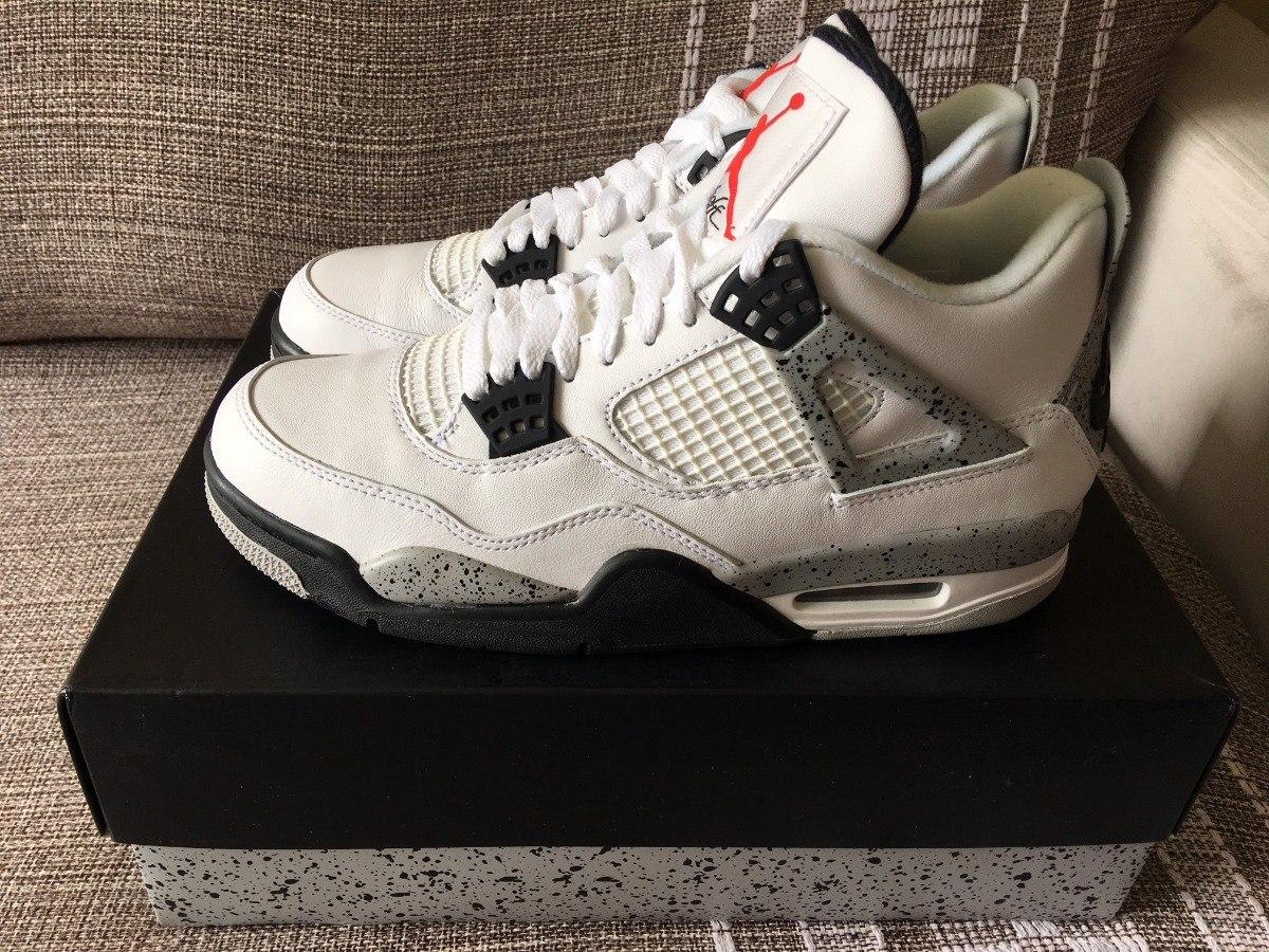 sale retailer de141 47dc1 Nike Air Jordan 4 Og 2016 White Cement Nº 39 / 39.5 (us 8)