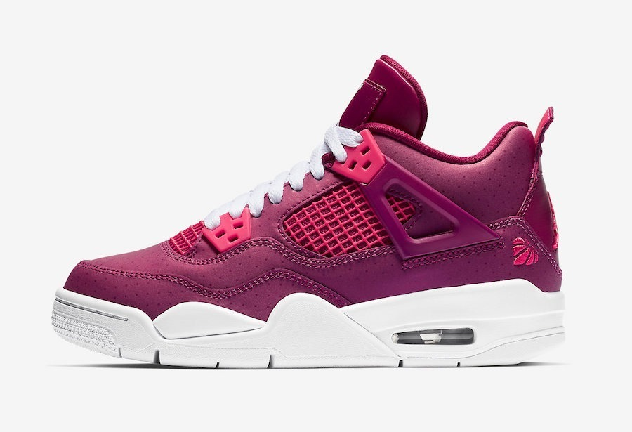 Nike Air Jordan 4 Retro Gs Valentinesday Mujer Mayma Snakers