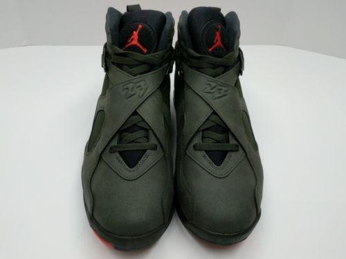 Mejor Zapatos Retro A Nike Air Jordan 8 Amarillo Negro