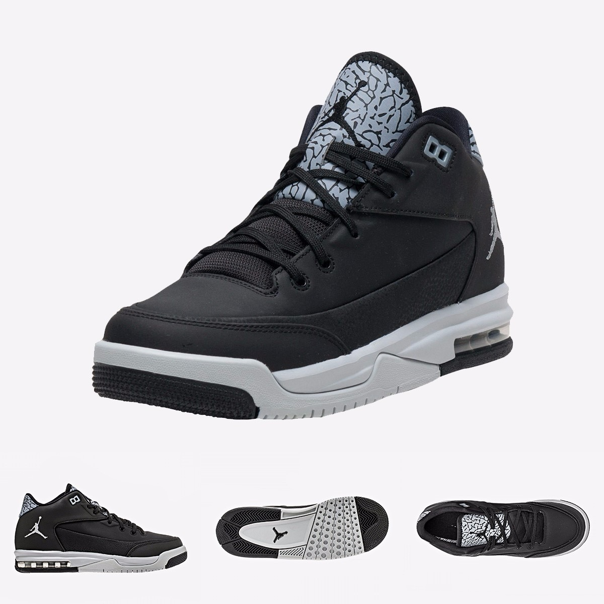 grande vente b1f2a e95d8 Nike Air Jordan Flight Origin 3 | Negro 100% Original Max
